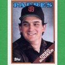 1988 Topps Baseball #727 Greg Booker - San Diego Padres