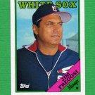 1988 Topps Baseball #714 Jim Fregosi MG / Chicago White Sox Team Checklist