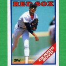 1988 Topps Baseball #704 Dennis Boyd - Boston Red Sox