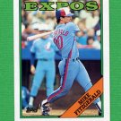 1988 Topps Baseball #674 Mike Fitzgerald - Montreal Expos