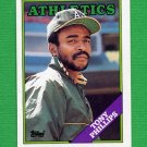 1988 Topps Baseball #673 Tony Phillips - Oakland A's
