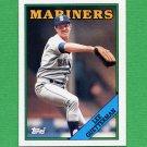 1988 Topps Baseball #656 Lee Guetterman - Seattle Mariners ExMt