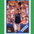 1988 Topps Baseball #633 Barry Lyons - New York Mets