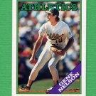 1988 Topps Baseball #621 Gene Nelson - Oakland A's
