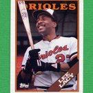 1988 Topps Baseball #598 Lee Lacy - Baltimore Orioles