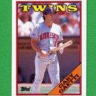 1988 Topps Baseball #578 Gary Gaetti - Minnesota Twins