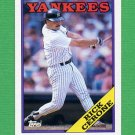 1988 Topps Baseball #561 Rick Cerone - New York Yankees