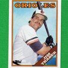 1988 Topps Baseball #544 Jim Traber - Baltimore Orioles