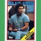 1988 Topps Baseball #541 Juan Beniquez - Toronto Blue Jays
