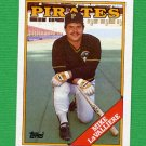 1988 Topps Baseball #539 Mike LaValliere - Pittsburgh Pirates