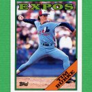 1988 Topps Baseball #529 Tim Burke - Montreal Expos