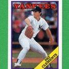 1988 Topps Baseball #484 Pat Clements - New York Yankees