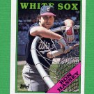 1988 Topps Baseball #458 Ron Hassey - Chicago White Sox