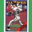 1988 Topps Baseball #445 Mike Krukow - San Francisco Giants