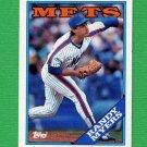 1988 Topps Baseball #412 Randy Myers - New York Mets