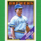 1988 Topps Baseball #362 Juan Castillo - Milwaukee Brewers