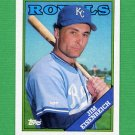 1988 Topps Baseball #348 Jim Eisenreich - Kansas City Royals