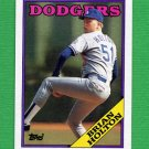 1988 Topps Baseball #338 Brian Holton - Los Angeles Dodgers