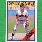 1988 Topps Baseball #329 Chris Speier - San Francisco Giants