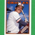 1988 Topps Baseball #327 Larry Sheets - Baltimore Orioles NM-M