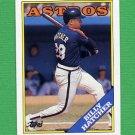 1988 Topps Baseball #306 Billy Hatcher - Houston Astros