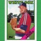 1988 Topps Baseball #232 Bob James - Chicago White Sox