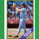1988 Topps Baseball #222 Steve Farr - Kansas City Royals