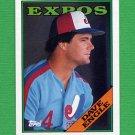 1988 Topps Baseball #196 Dave Engle - Montreal Expos