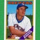 1988 Topps Baseball #187 Steve Kiefer - Milwaukee Brewers