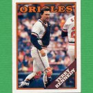 1988 Topps Baseball #180 Terry Kennedy - Baltimore Orioles Ex