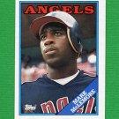 1988 Topps Baseball #162 Mark McLemore - California Angels