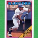 1988 Topps Baseball #139 Jerry Browne - Texas Rangers