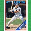 1988 Topps Baseball #136 Brian Dayett - Chicago Cubs