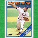 1988 Topps Baseball #131 Don Schulze - New York Mets