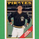 1988 Topps Baseball #127 Jim Gott - Pittsburgh Pirates