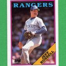 1988 Topps Baseball #114 Jeff Russell - Texas Rangers