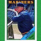 1988 Topps Baseball #104 Dick Williams MG / Seattle Mariners Team Checklist NM-M