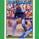 1988 Topps Baseball #056 Ed Hearn - Kansas City Royals