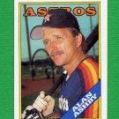 1988 Topps Baseball #048 Alan Ashby - Houston Astros