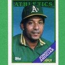 1988 Topps Baseball #047 Joaquin Andujar - Oakland A's