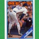 1988 Topps Baseball #030 Sid Fernandez - New York Mets