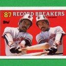 1988 Topps Baseball #004 Eddie Murray RB - Baltimore Orioles