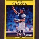 1991 Fleer Baseball #660 Rick Cerone - New York Yankees