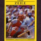 1991 Fleer Baseball #654 Todd Zeile - St. Louis Cardinals