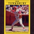 1991 Fleer Baseball #648 Bob Tewksbury - St. Louis Cardinals
