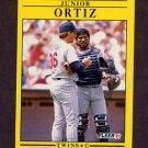 1991 Fleer Baseball #622 Junior Ortiz - Minnesota Twins