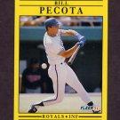 1991 Fleer Baseball #565 Bill Pecota - Kansas City Royals
