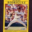 1991 Fleer Baseball #541 Richard Rodriguez RC - San Diego Padres