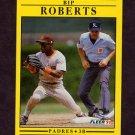 1991 Fleer Baseball #540 Bip Roberts - San Diego Padres