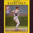 1991 Fleer Baseball #539 Dennis Rasmussen - San Diego Padres